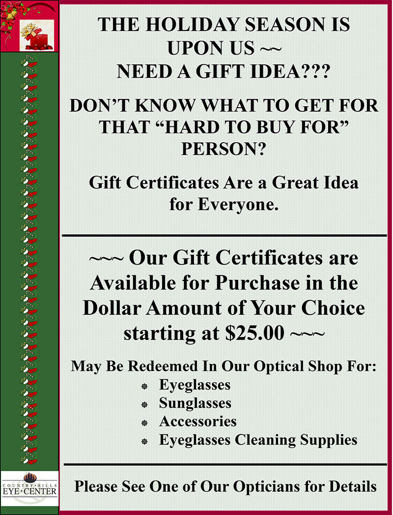 2020 Gift Certificates for sale